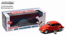 Volkswagen  - Beetle *Gremlins* 1967 red - 1:18 - GreenLight - 12985 - gl12985 | The Diecast Company