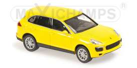 Porsche  - 2014 yellow - 1:43 - Maxichamps - 940063201 - mc940063201 | The Diecast Company