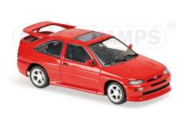 Ford  - 1992 red - 1:43 - Maxichamps - 940082100 - mc940082100 | The Diecast Company