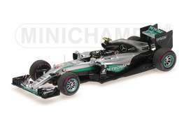 Mercedes Benz Petronas - 2016 silver - 1:43 - Minichamps - 417160306 - mc417160306 | The Diecast Company