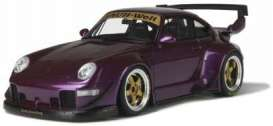 Porsche  - RWB 993 purple - 1:18 - GT Spirit - 727 - GT727 | The Diecast Company