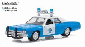 Dodge  - Monaco  1974 light blue/white - 1:64 - GreenLight - 42770C - gl42770C | The Diecast Company