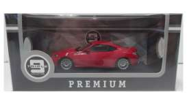 Subaru  - 2013 red - 1:43 - Triple9 Premium - T9P10021 | The Diecast Company