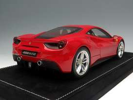 Ferrari  - rosso corsa metallic - 1:18 - MR Collection Models - MRFE015A | The Diecast Company