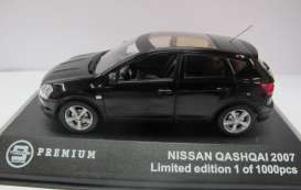 Nissan  - 2007 black - 1:43 - Triple9 Premium - T9P10025 | The Diecast Company