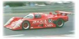 Nissan  - 1988 red - 1:43 - Spark - s4396 - spas4396 | The Diecast Company