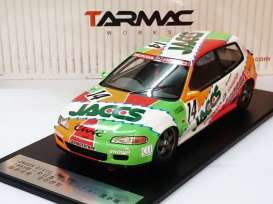 Honda  - 1993 green/orange/red/white - 1:18 - Tarmac - Tarmac01JA | The Diecast Company