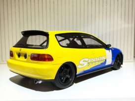 Honda  - 1993 yellow/blue - 1:18 - Tarmac - Tarmac01SP | The Diecast Company
