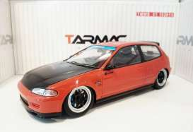 Honda  - 1993 red/black - 1:18 - Tarmac - Tarmac01R | The Diecast Company