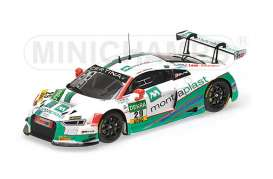 Audi  - 2016 white/green - 1:43 - Minichamps - 437161129 - mc437161129 | The Diecast Company
