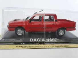 Dacia  - red - 1:43 - Magazine Models - LCda1307r - magLCda1307r | The Diecast Company