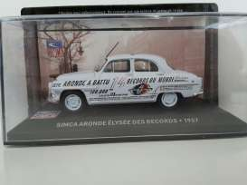 Simca  - 1957 light blue - 1:43 - Magazine Models - SIMelysee - magSIMelysee | The Diecast Company