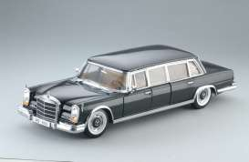 Mercedes Benz  - 600 Pullman 1966 black - 1:18 - SunStar - 2209 - sun2209 | The Diecast Company