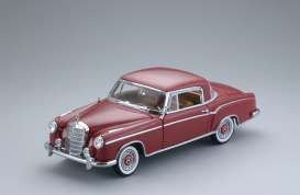 Mercedes Benz  - 1958 red - 1:18 - SunStar - 3563 - sun3563 | The Diecast Company