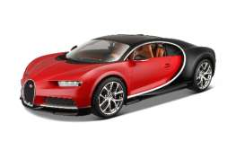 Bugatti  - 2016 red/black - 1:18 - Bburago - 11040r - bura11040r | The Diecast Company