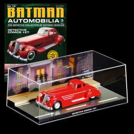 Batman  - red - 1:43 - Magazine Models - BAT012 - magBAT012 | The Diecast Company