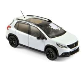 Peugeot  - 2016 pearl white - 1:43 - Norev - nor479847 | The Diecast Company