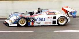 Courage  - 1995 white/blue - 1:43 - Spark - s4705 - spas4705 | The Diecast Company