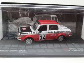 Simca  - 1973 white/black/red - 1:43 - Magazine Models - RASimca1000 - MagRASimca1000 | The Diecast Company