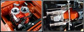 Plymouth Hemi - 1967 chrome/orange - 1:18 - Acme Diecast - Acme1806702E | The Diecast Company