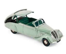 Norev - Peugeot  - nor474218 : 1937 Peugeot 402 Eclipse, light green