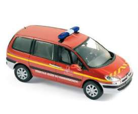 Peugeot  - 2008 red - 1:43 - Norev - nor478709 | The Diecast Company