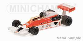 Minichamps - McLaren Ford - mc435770101 : 1977 McLaren Ford M26 #1 James Hunt Winner Silverstone GP, red/white