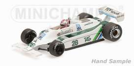 Williams Cosworth - 1979 white/green - 1:43 - Minichamps - mc435790128 | The Diecast Company