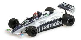 Brabham BMW - 1982 white/blue - 1:43 - Minichamps - 417820001 - mc417820001 | The Diecast Company
