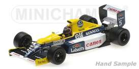Williams Renault - 1990 white/blue/yellow - 1:43 - Minichamps - 437900005 - mc437900005 | The Diecast Company