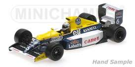Williams Renault - 1990 white/blue/yellow - 1:43 - Minichamps - 437900006 - mc437900006 | The Diecast Company