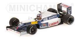 Williams Renault - 1990 white/blue - 1:43 - Minichamps - 437910105 - mc437910105 | The Diecast Company
