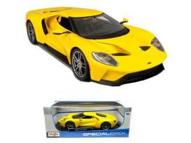 Ford  - 2017 yellow - 1:18 - Maisto - 31384y - mai31384y | The Diecast Company