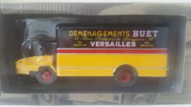 Berliet  - 1968 yellow/black - 1:43 - Magazine Models - TRUhuet - magTRUhuet | The Diecast Company