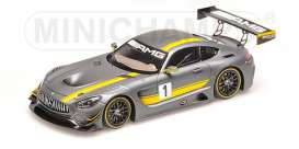 Mercedes Benz  - 2016 grey - 1:43 - Minichamps - 437163001 - mc437163001 | The Diecast Company