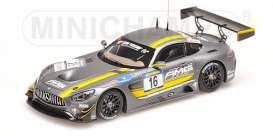 Mercedes Benz  - 2016 grey - 1:43 - Minichamps - mc437163016 | The Diecast Company
