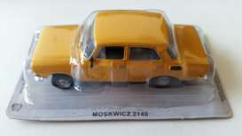Moskwitch  - 2140 yellow - 1:43 - Magazine Models - PCmos2140y - magPCmos2140y | The Diecast Company