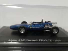 Alpine  - 1969 blue - 1:43 - Magazine Models - AlpineA340b - magAlpineA340b | The Diecast Company