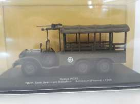 Military Vehicles Dodge - green - 1:43 - Magazine Models - MVdodgeWC63 - magMVdodgeWC63 | The Diecast Company