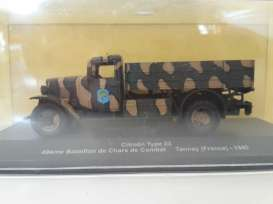 Military Vehicles Citroen - green/sand - 1:43 - Magazine Models - MILcitroen - magMILcitroen | The Diecast Company