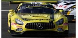 Mercedes Benz  - 2016 yellow - 1:43 - Spark - sb125 - spasb125 | The Diecast Company