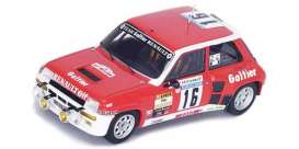 Renault  - 1981 red - 1:43 - Spark - sf100 - spasf100 | The Diecast Company