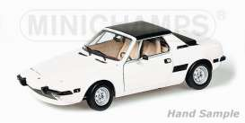 Fiat  - 1974 white - 1:18 - Minichamps - mc100121665 | The Diecast Company