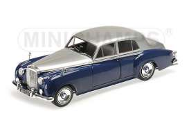 Bentley  - 1954 blue/silver - 1:18 - Minichamps - 100139954 - mc100139954 | The Diecast Company