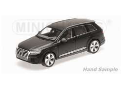 Minichamps - Audi  - mc110014001 : 2014 Audi Q7, matt black