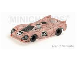 Minichamps - Porsche  - mc180716924 : 1971 Porsche 917/20 Kauhsen/Joest 24H Le Mans dirty version, dirty/pink
