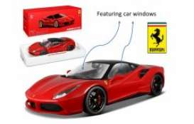 Ferrari  - red/black - 1:18 - Bburago - 16905rbk - bura16905rbk | The Diecast Company