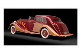 Rolls Royce  - 1937 red/cooper - 1:43 - Minichamps - mc437134660 | The Diecast Company