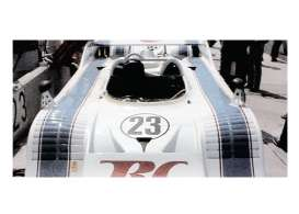 Minichamps - Porsche  - mc437736523 : 1973 Porsche 917/10 #23 Charlie Kemp Rinzler Racing Winner Can-Am  Motorsport 1973 *Resin series*, white/black/red
