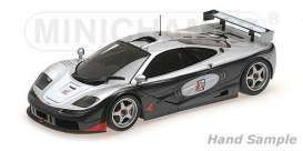 McLaren  - black/silver/red - 1:18 - Minichamps - 530133512 - mc530133512 | The Diecast Company